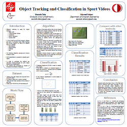 Visual results of tracking and recognition of the proposed method